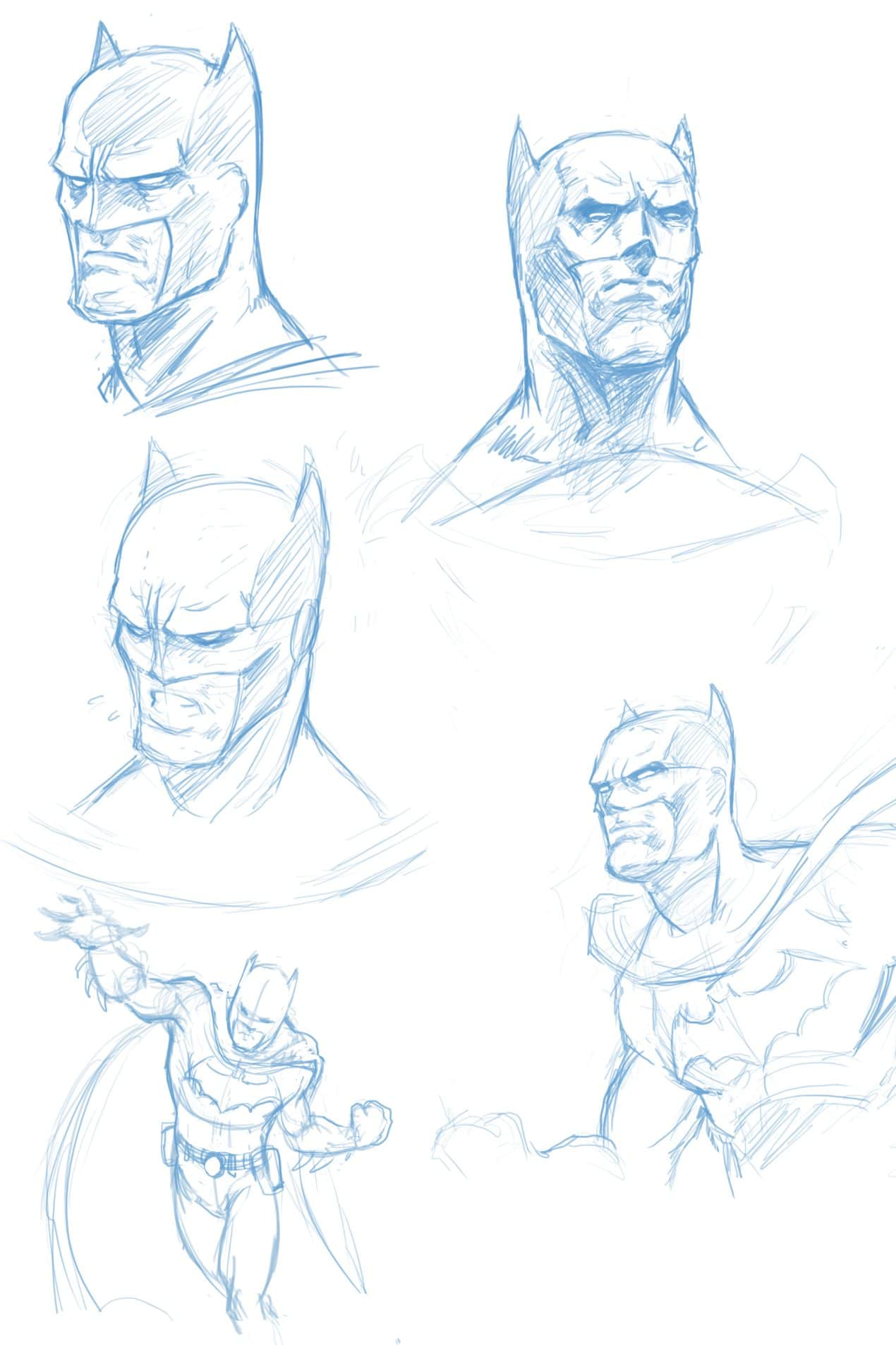 How_to_draw_Batman_exploration_sketches