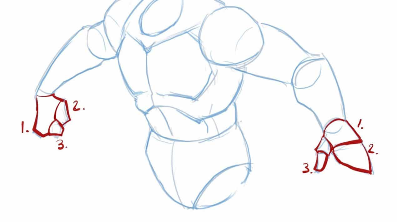 How_to_draw_batman_full_body_arms_hands_detail