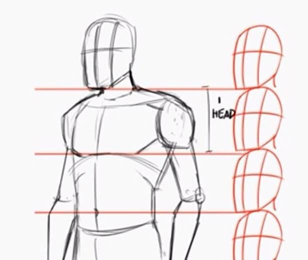 How To Draw The Human Body Step By Step How To Draw A Person Tutorial If you find a pose you really want to draw out, it should be a good idea to try turning it round to find the best angle for you, yes you can rotate the images. how to draw the human body step by step