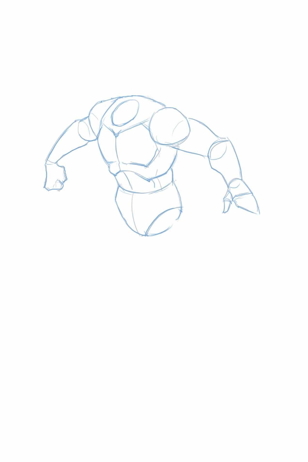 How_to_draw_batman_full_body_arms_hands