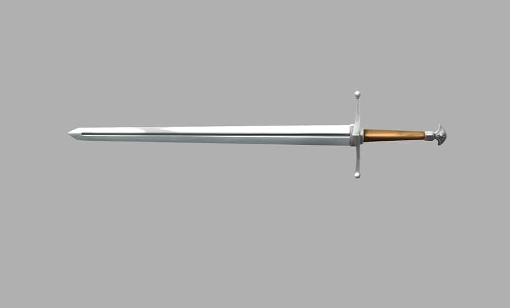 Sword tutorial step 9