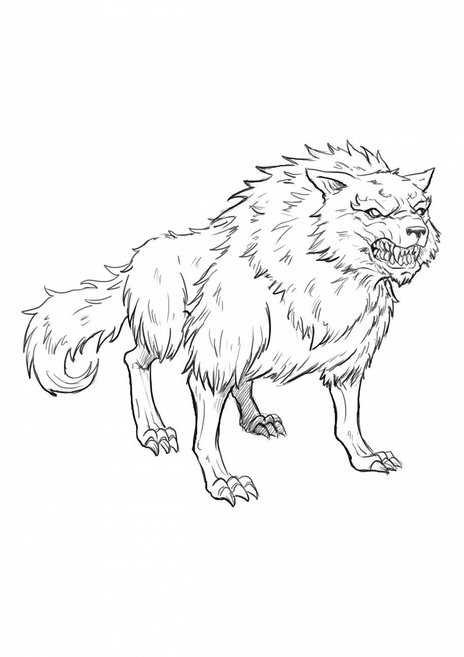 6 ways to draw a wolf realistic cartoon and fantasy style