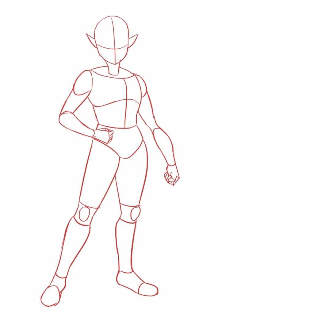 This tutorial will guide you step by step and will teach you how to draw properly the human body
