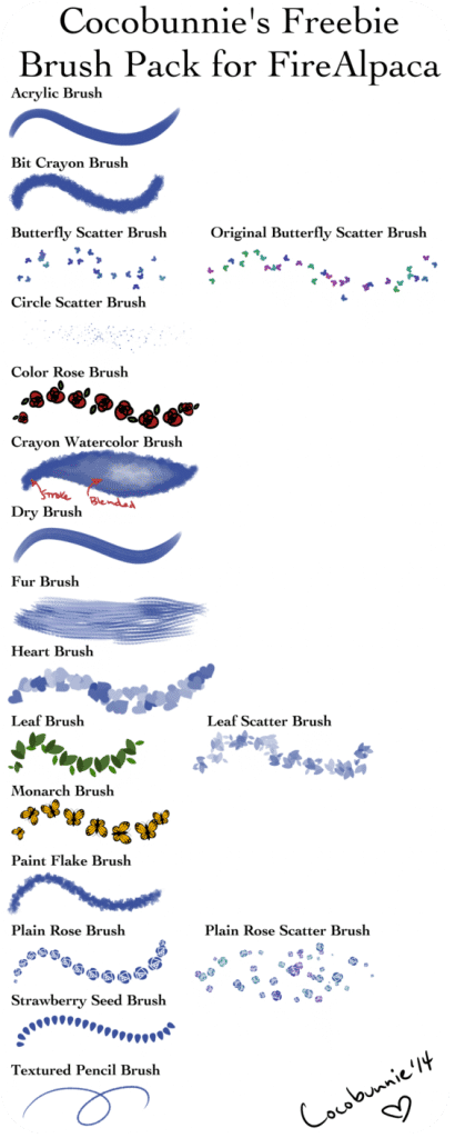 20 Firealpaca Brush Sets You Can T Miss Improve Your Drawings