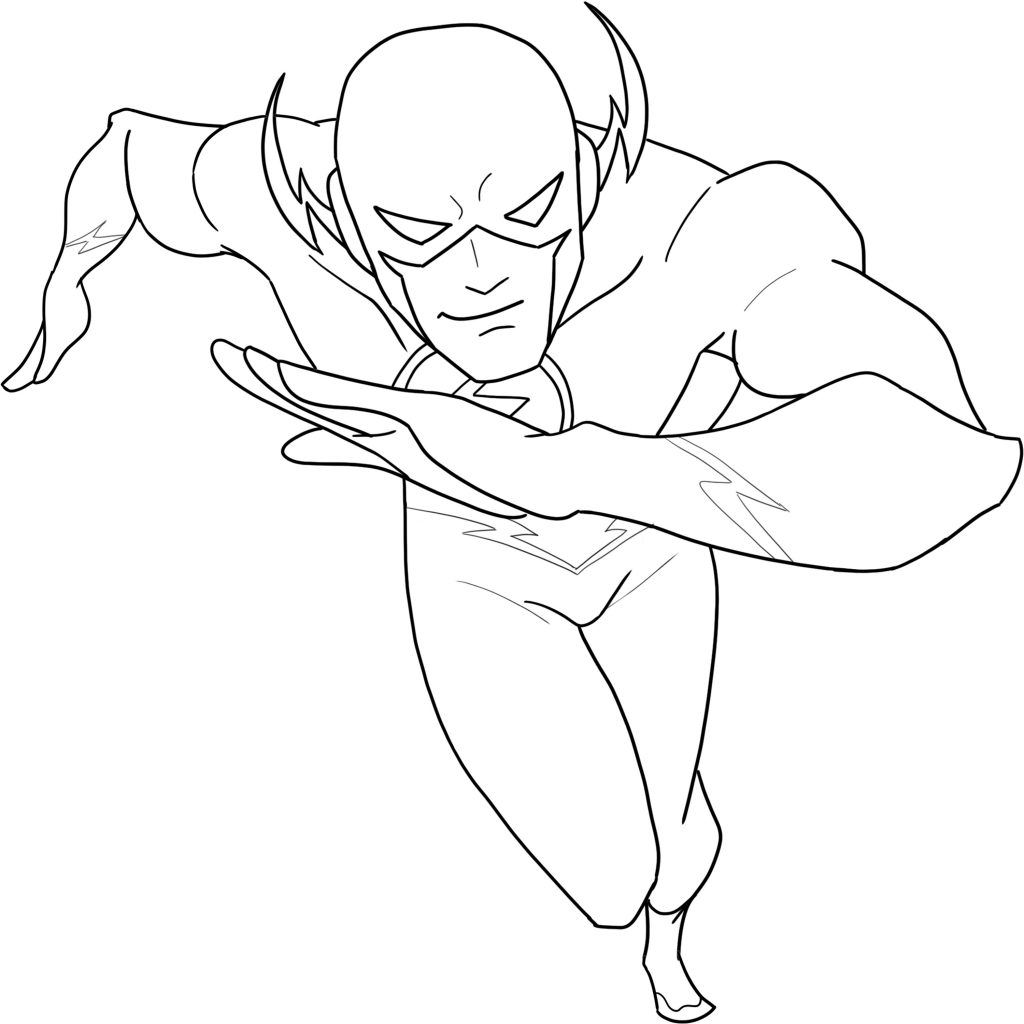 3 Ways To Draw Flash From Beginner To Advance Level Improveyourdrawings Com