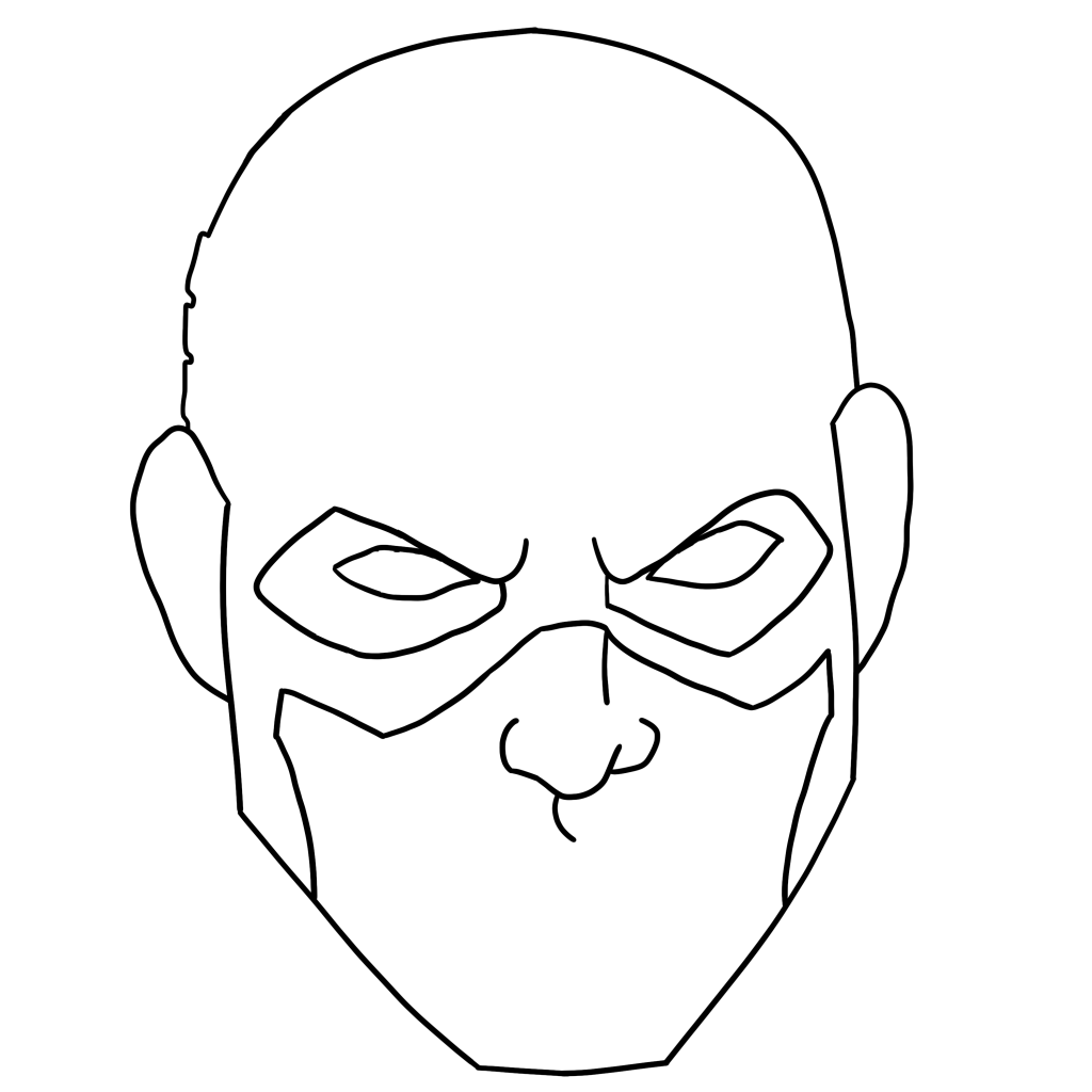3 Ways To Draw Captain America Face Portrait Full Body