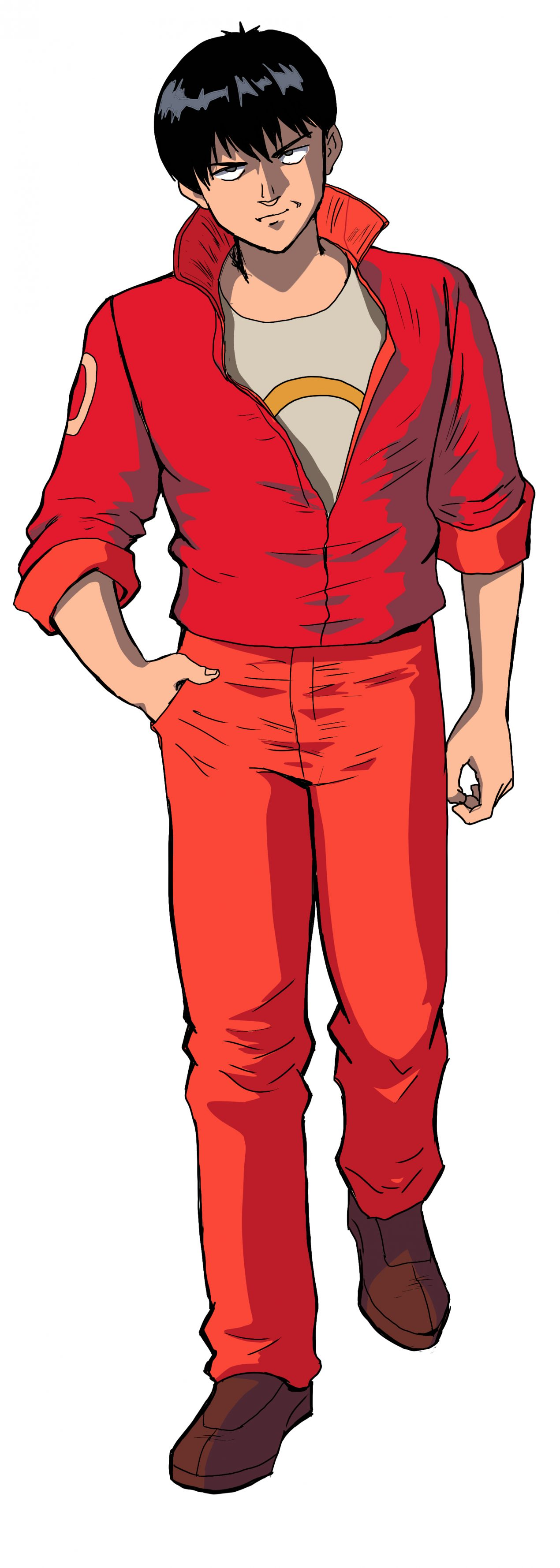 How to Draw Kaneda from Akira