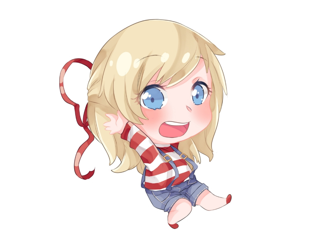 Learn To Draw A Chibi Cartoon Girl 7 Easy Steps With Pictures Improveyourdrawings Com