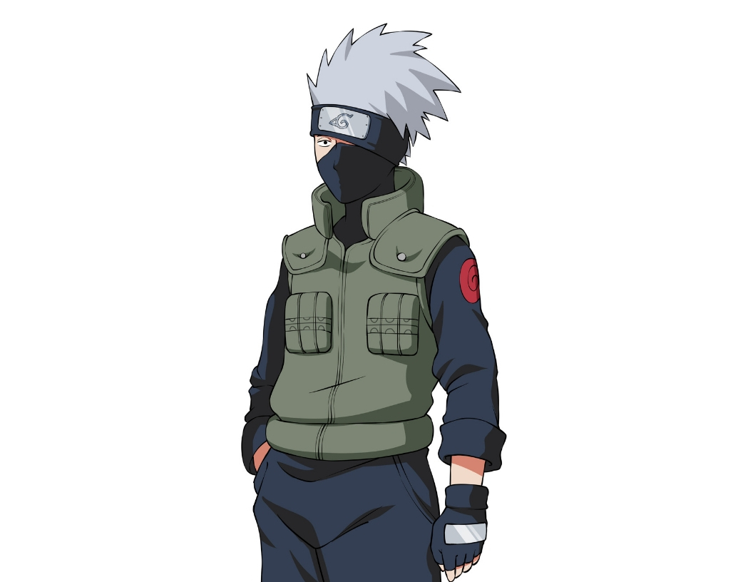 How to Draw Kakashi from Naruto