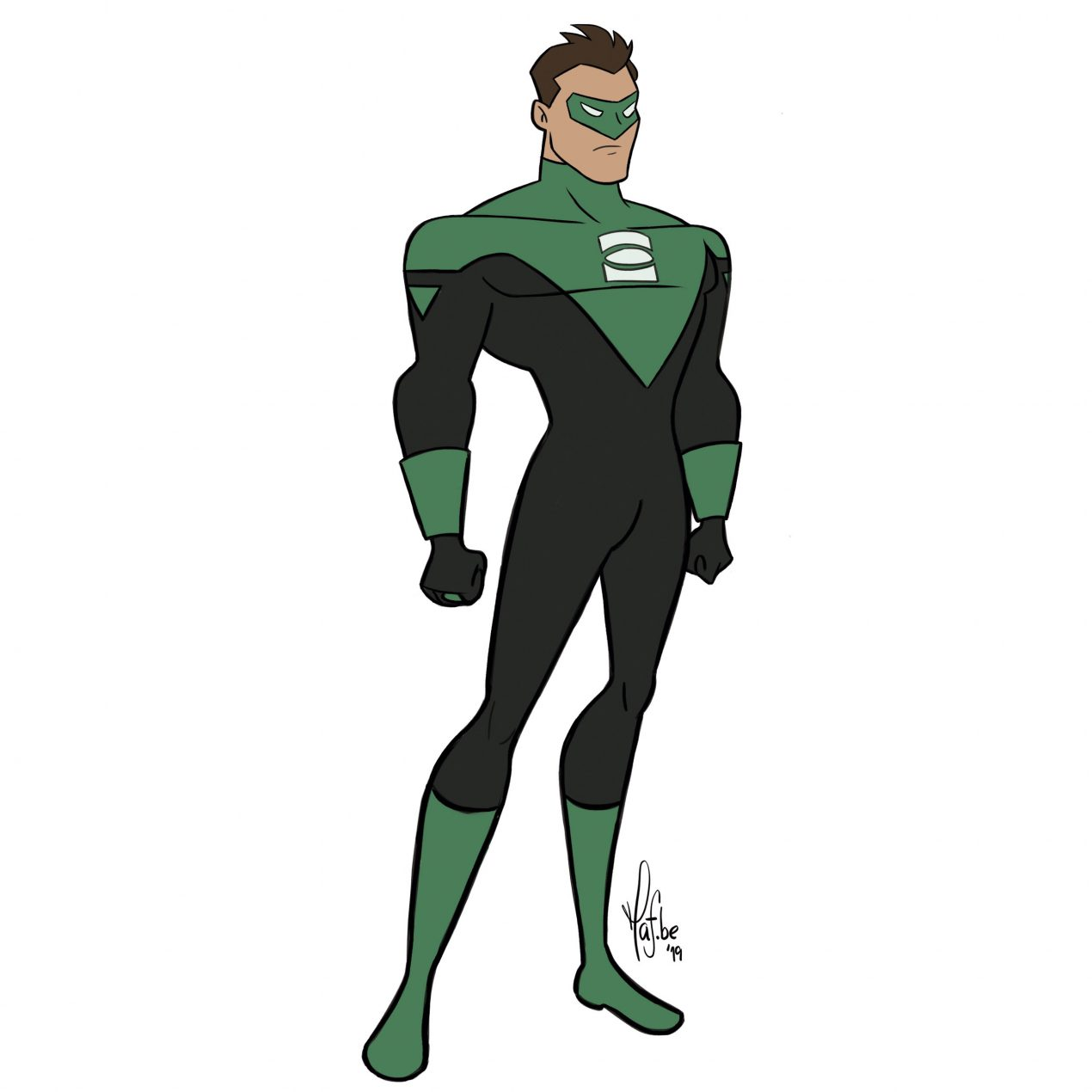 Learn To Draw Green Lantern in 7 Easy Steps (with Pictures)