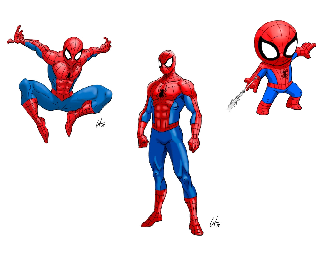 3 Ways to Draw Spiderman