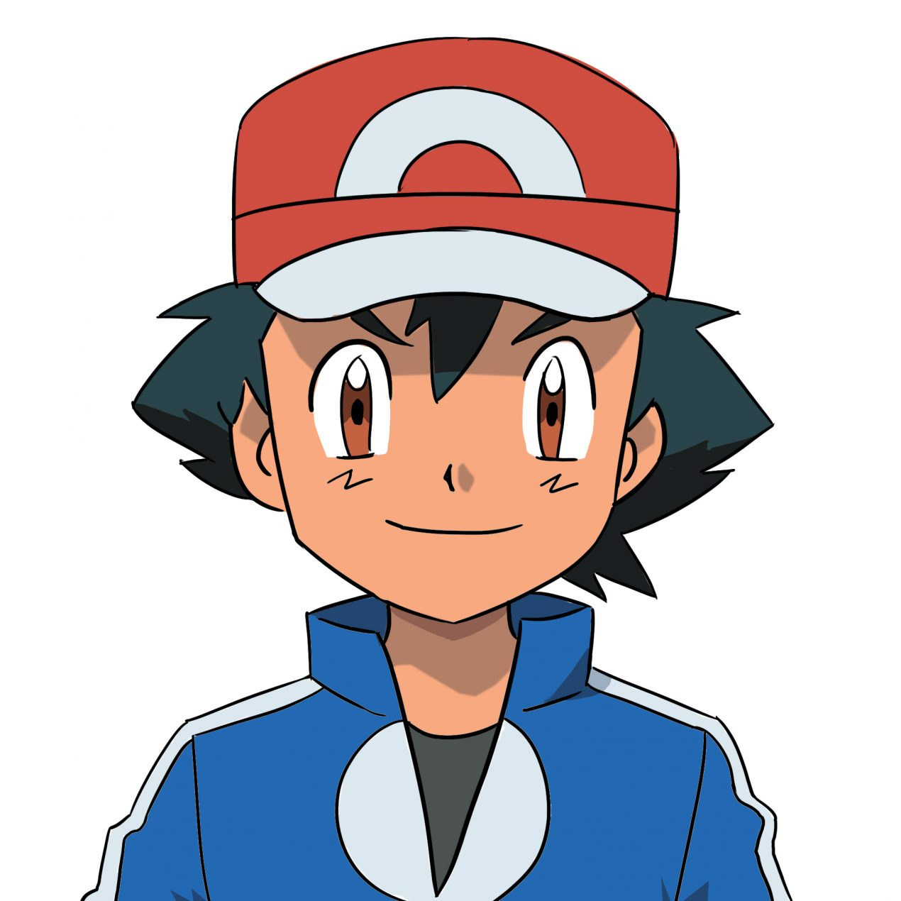 2 ways to Draw Ash Ketchum from Pokemon ( with Pictures )
