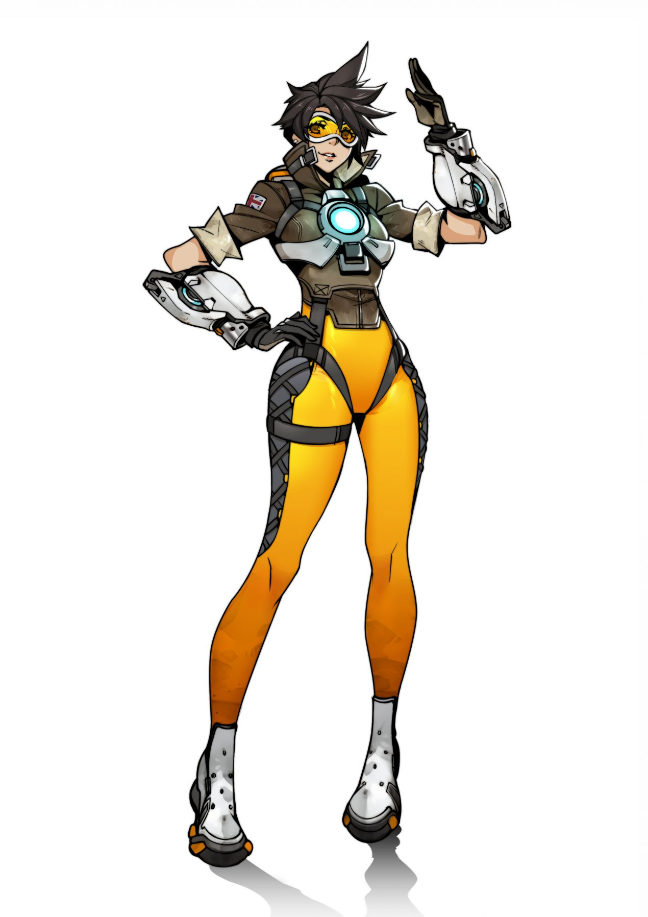 How to Draw Tracer from Overwatch
