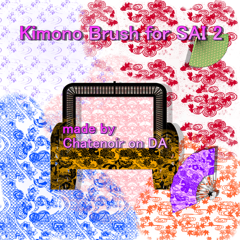 30 Paint Tool Sai Brushes and Textures for Creating Amazing Art