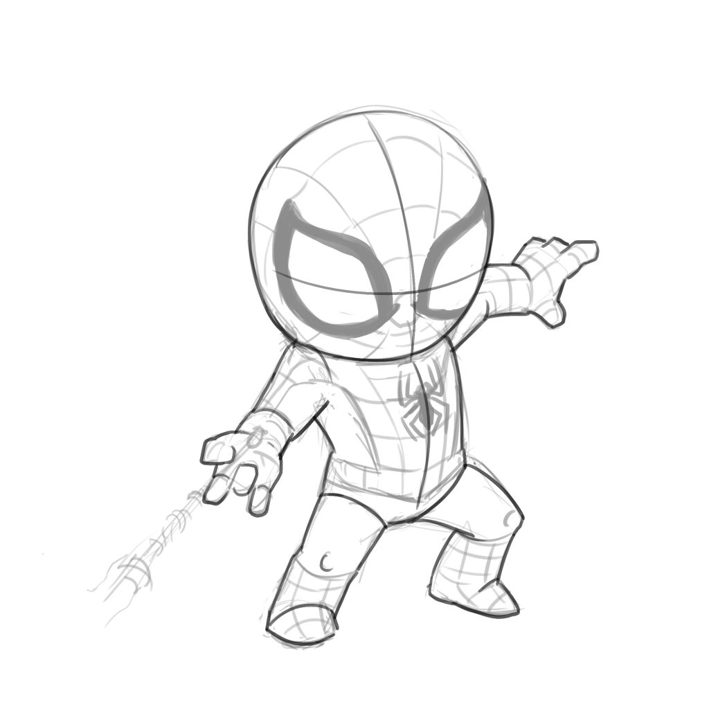 3 Ways To Draw Spiderman Improveyourdrawings Com