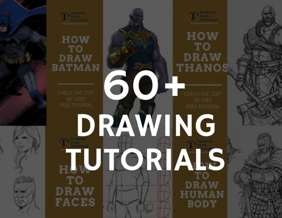 60 Easy Drawing Tutorials For All Levels Improveyourdrawings Com
