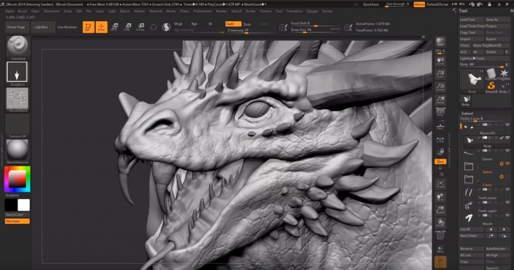 30+ Zbrush Tutorials | Free and Premium | Beginner to Expert Level