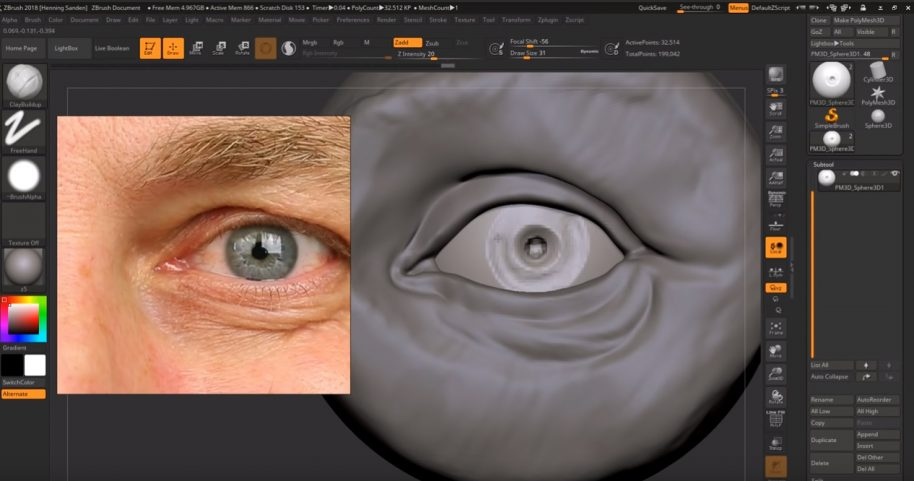 Zbrush clean up mesh