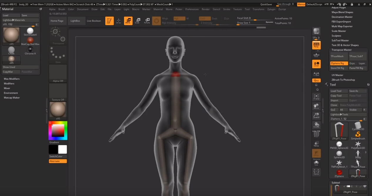 Zbrush tutorial 18 - Improveyourdrawings com