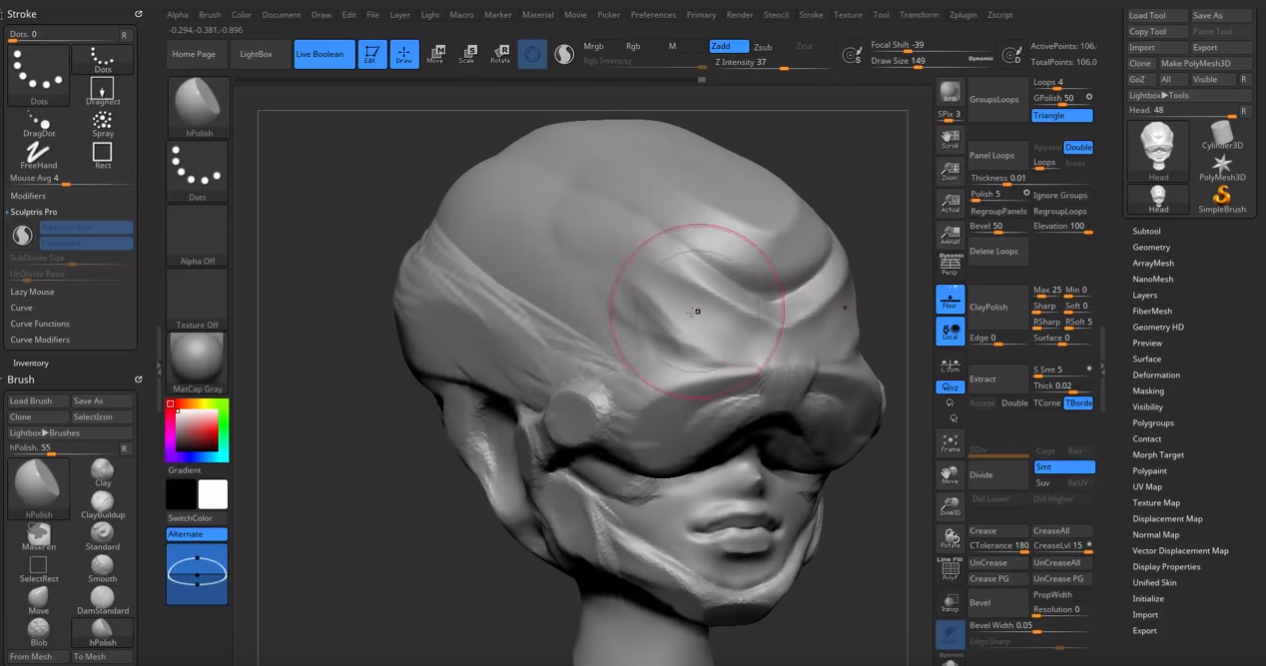 Zbrush tutorial 8 - Improveyourdrawings com