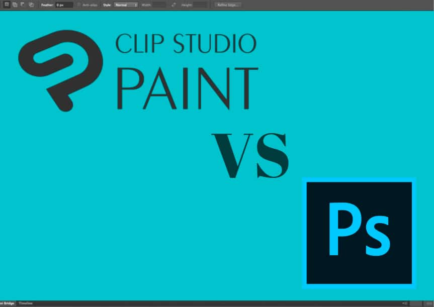 Clip Studio Paint vs. Photoshop | Which one is Better