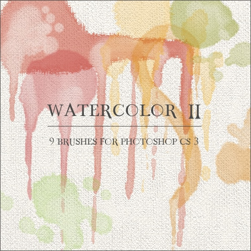40 Free Photoshop Watercolor Brush Kits You Don't Want To Miss