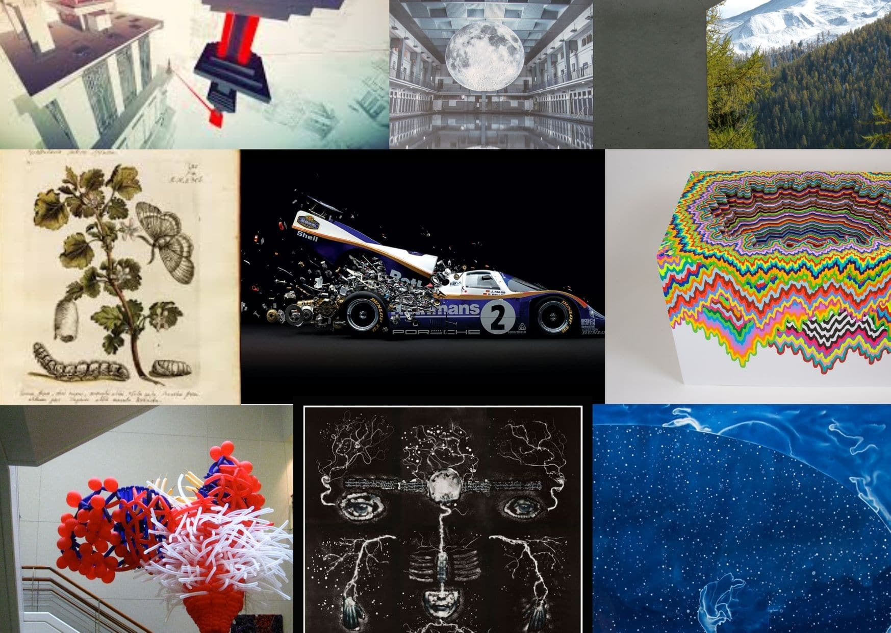 20 Amazing Artists Inspired by Science