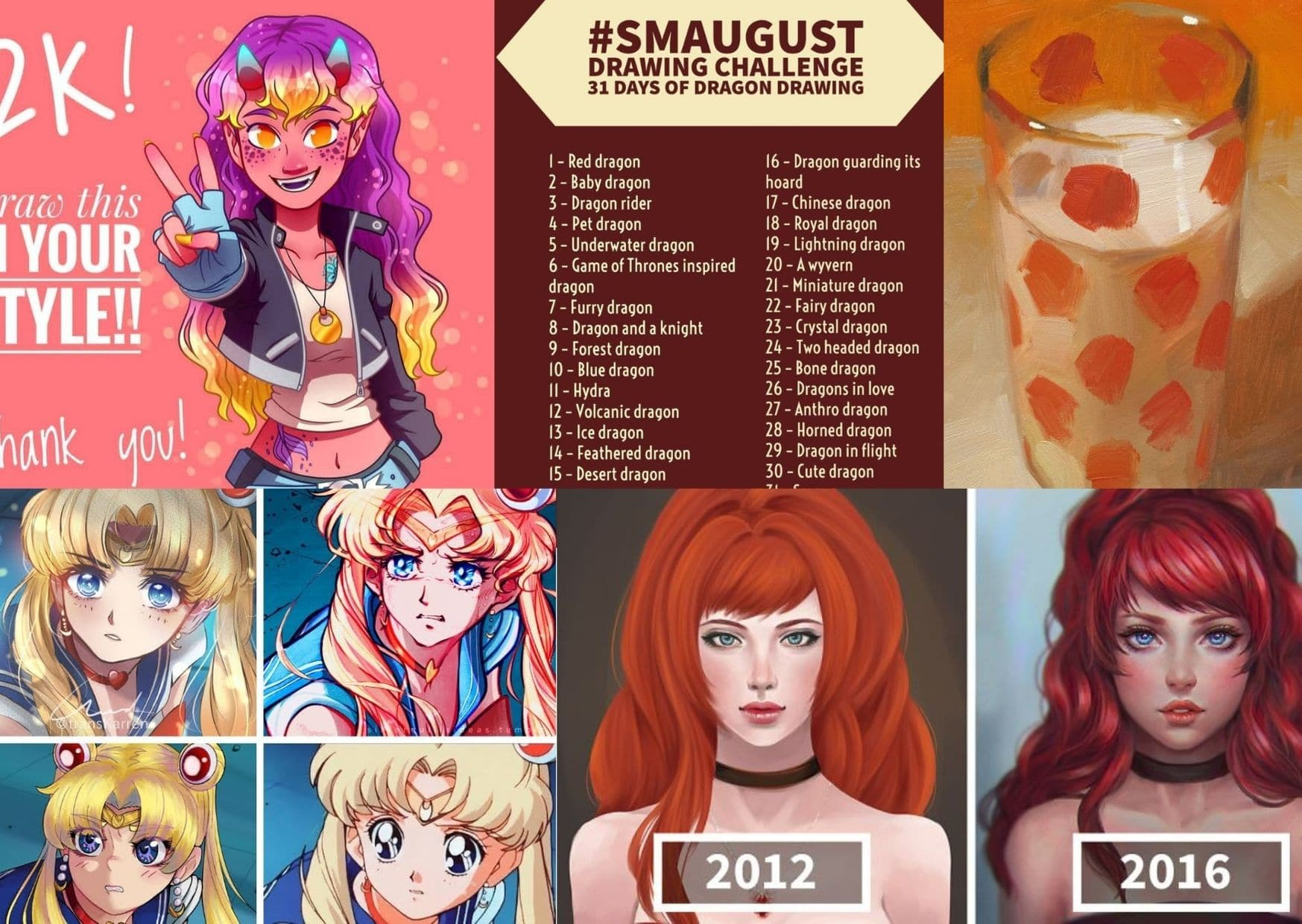 Top 20 Popular Art Challenges you don´t wanna miss